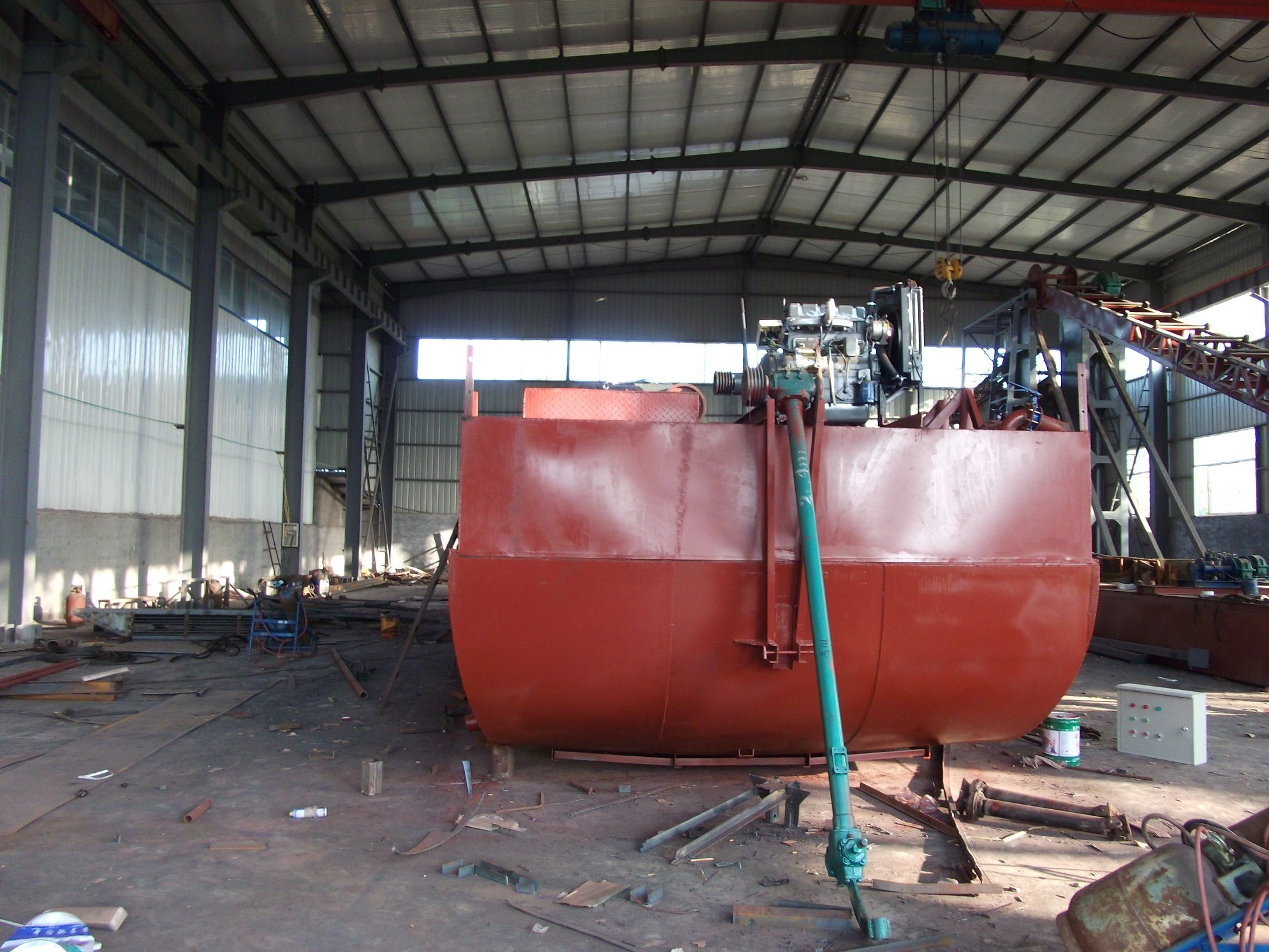 150t Sand Suction Carrier Barge Auto Suction and Discharge Barge