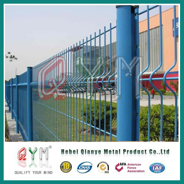 China Outdoor Metal Fence Panel/ Curved Welded Wire Mesh Fence ...