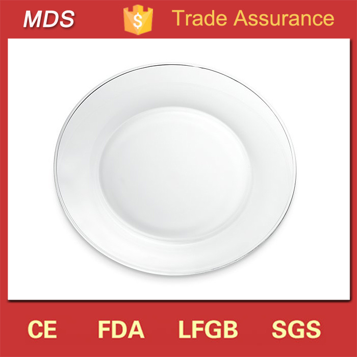 superior Cheap Glass Plates In Bulk Part - 13: China Cheap Bulk Clear Glass Catering Dinner Plates Wholesale - China Cheap  Bulk Dinner Plates, Clear Glass Dinner Plates Wholesale