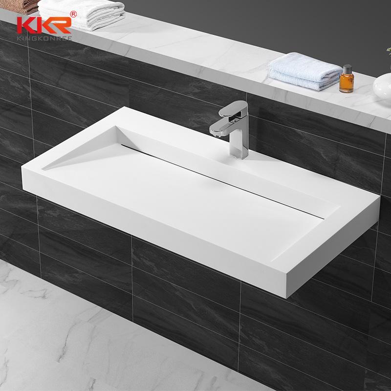 China Artificial Stone Bathroom Sink Vanity Modern Bathroom Sinks China Bathroom Sinks Modern Bathroom Sink