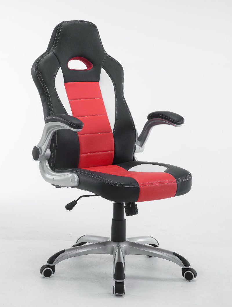 adjustable footrest high products image modern giantex support seat the chair with product back office lumbar racing