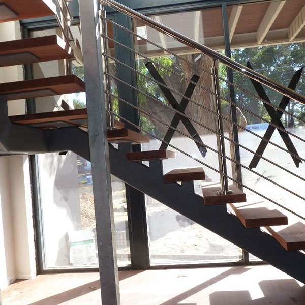 DIY Metal Stairs Basement Stairs With Wrought Iron Railings