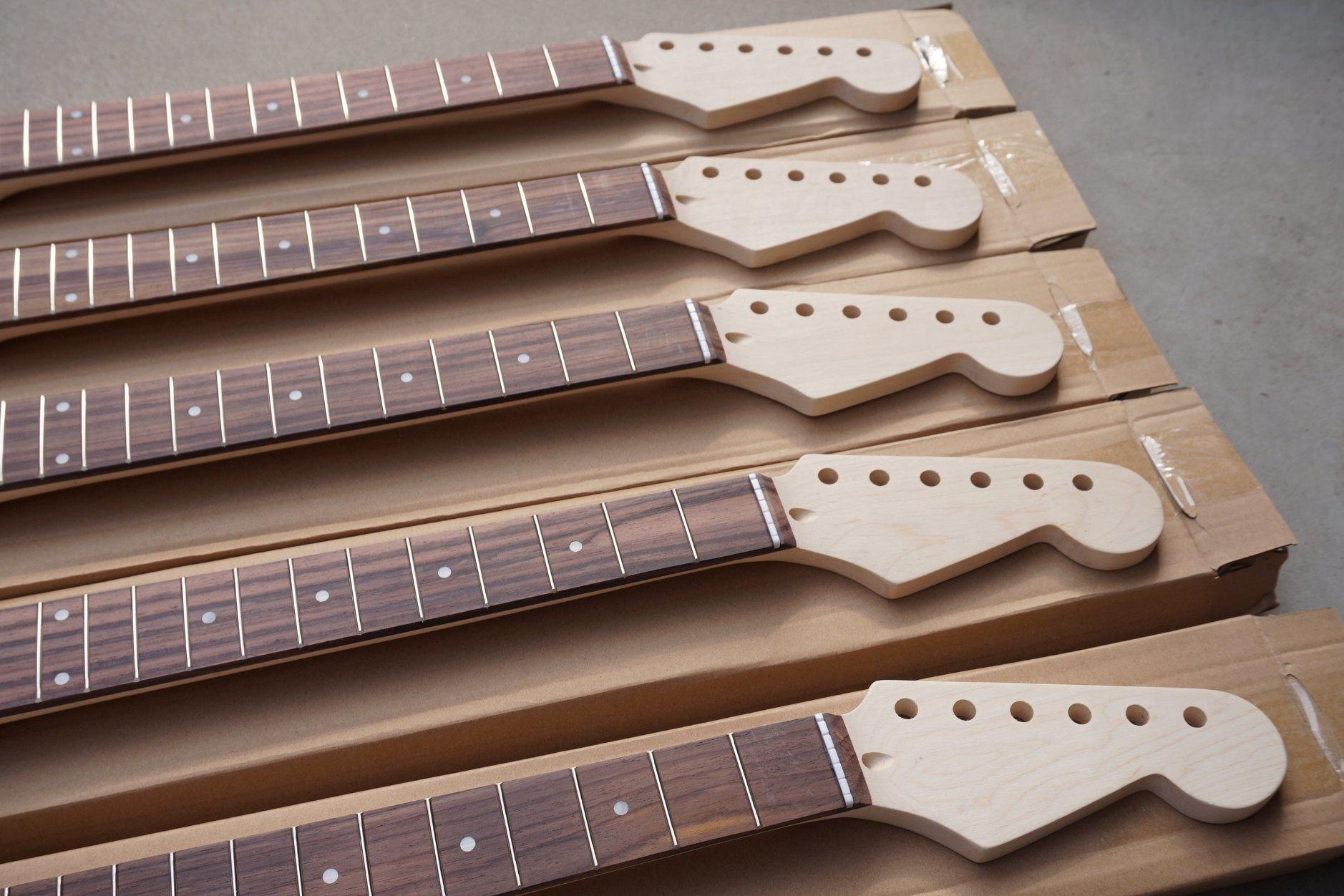 China Aiersi Electric Guitar Parts Neck Photos