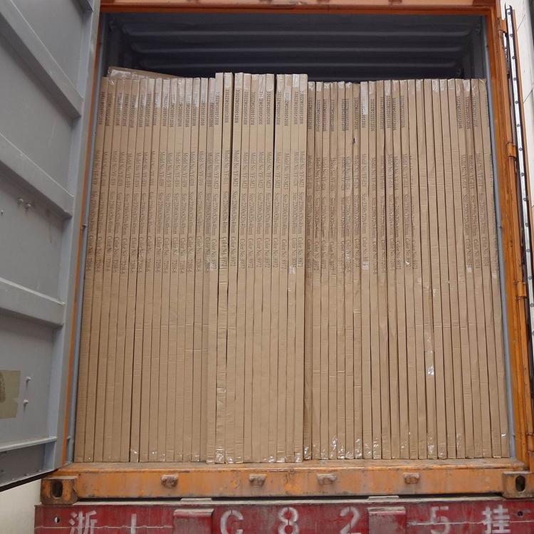 China New Design Commercial Price Wooden Front Men Polish Door