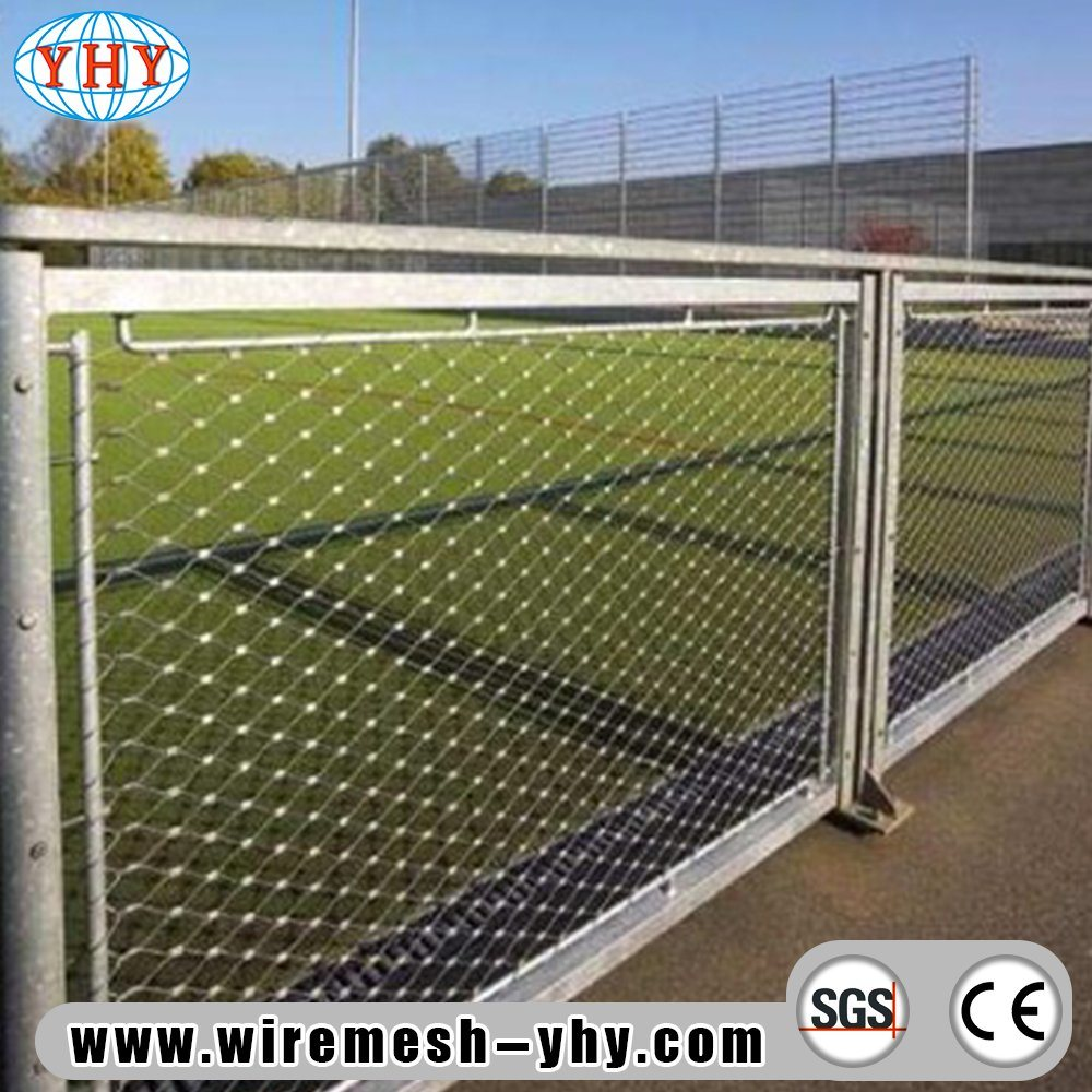China Stainless Steel Wire Rope Mesh Netting Woven Type - China ...