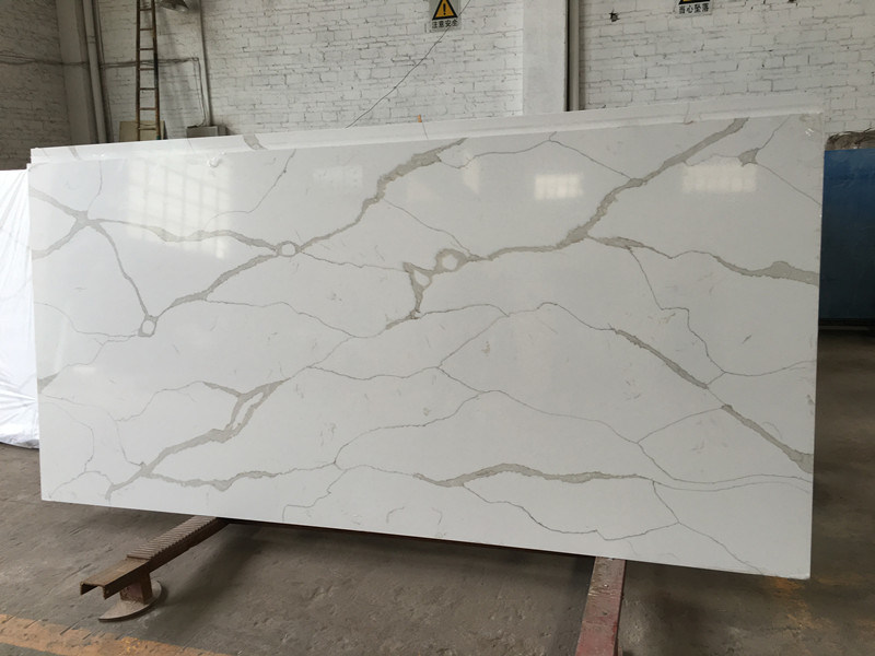 China High Quality Artificial Marble Slab White Calacatta - Fake marble slab