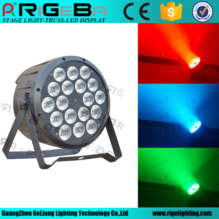 High Power 18X10W RGBW 4in1 Stage Wedding Wash LED PAR64 Light pictures & photos