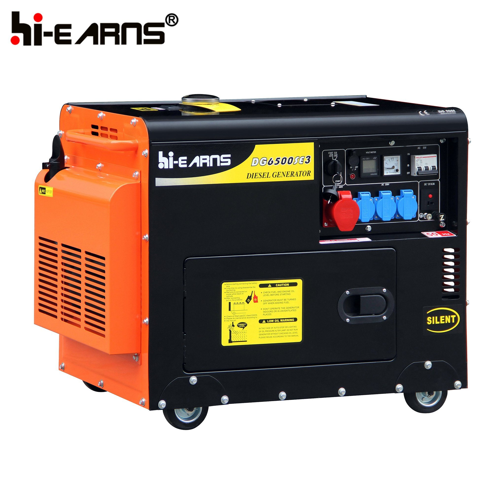 China Super Silent 5kw Diesel Generator DG6500SE China Diesel