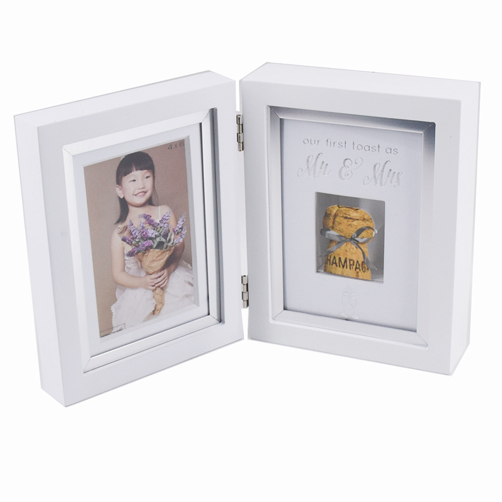 White MDF Double Sides Memory Pictures Frame pictures & photos