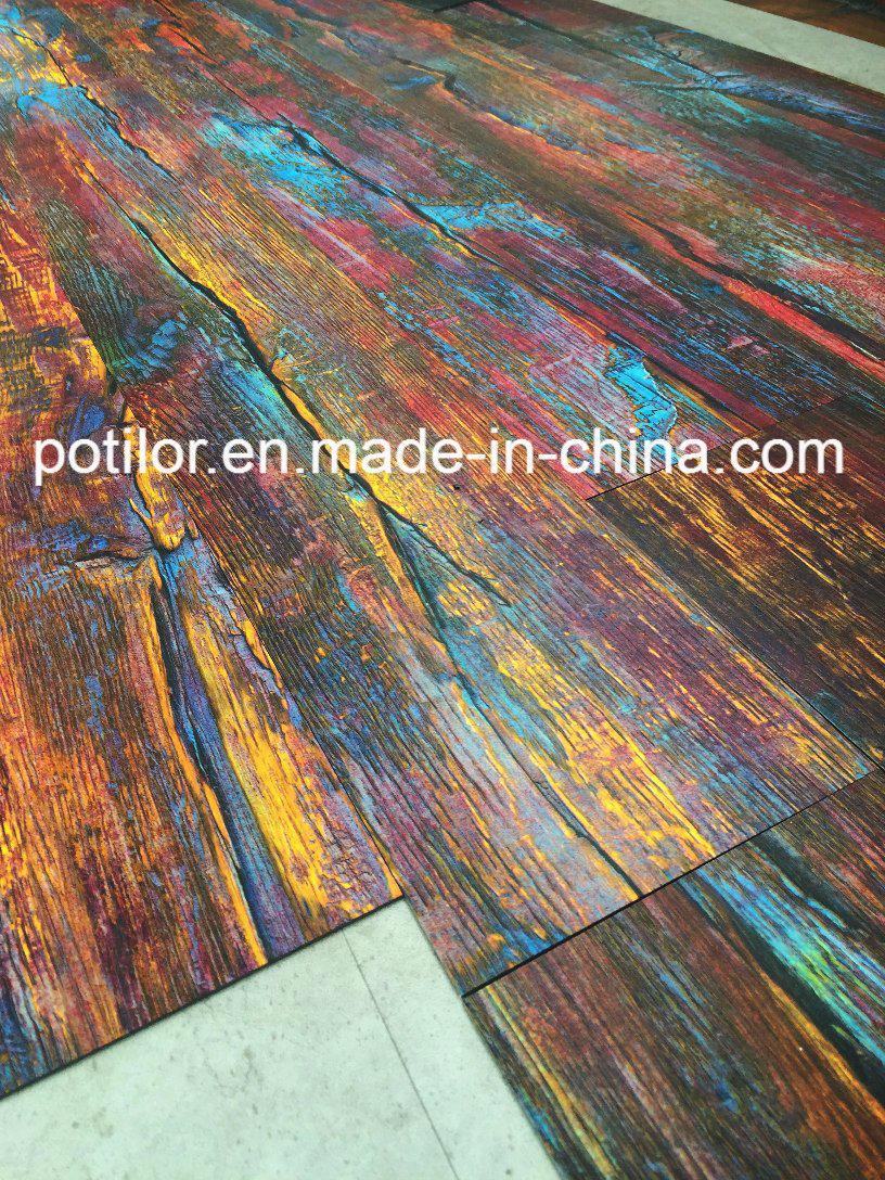 China Waterproof Pvc Lvt Vinyl Flooring Tiles Dry Back