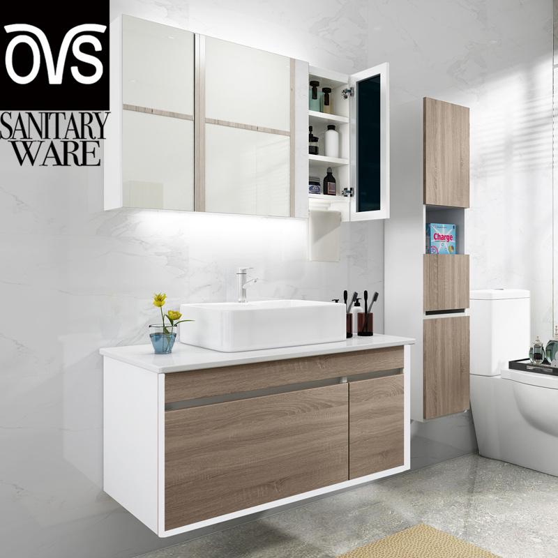 China Oem Best Selling Marble Bathroom Vanities Furniture Wooden Bathroom Cabinet China Vanity Vanity Cabinet