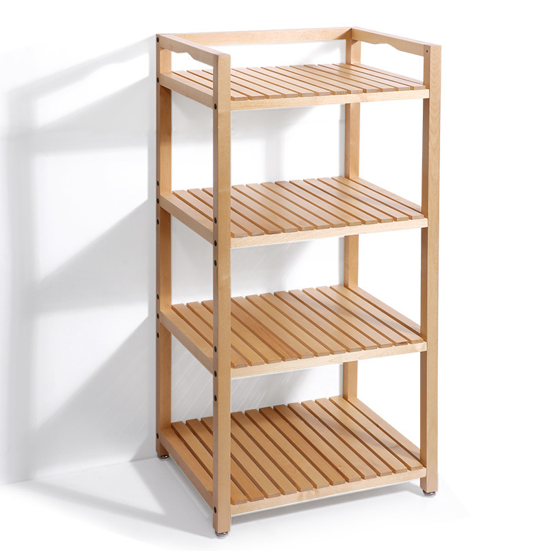 Solid Wood Coner Shelf Freestanding Kitchen Storage Rack  sc 1 st  Zhongshan Standard Industry Co. Ltd. & China Solid Wood Coner Shelf Freestanding Kitchen Storage Rack ...