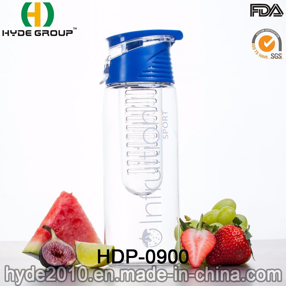 China 23oz Tritan Material Water Bottle With Fruit Infuser Bpa Free New Infusd Plastic Infusion Hdp 0900