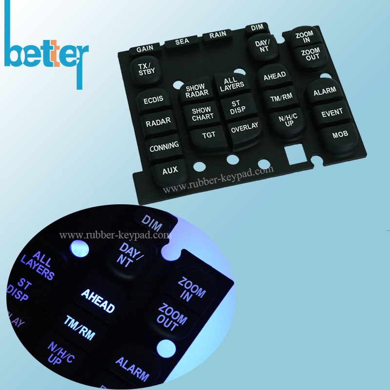 China Factory Custom Laptop Keyboard Cover for Silicone