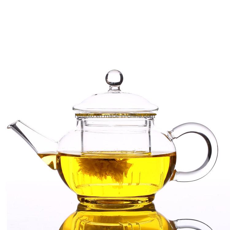 China Glassware Fancy Design 200ml Mini Pot High Borosilicate Glass Tea Pot China Glass Tea Pot And Borosilicate Glass Tea Pot Price