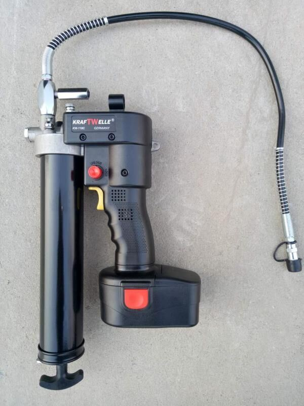Electric Grease Gun >> Hot Item Professional Industrial Use Cordless Electric Grease Gun 24v 18v 12v With Battery