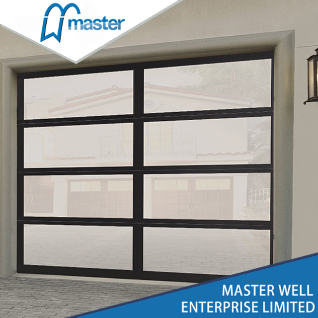 China Commercial Frosted Glass Garage Doors Panel Prices Photos