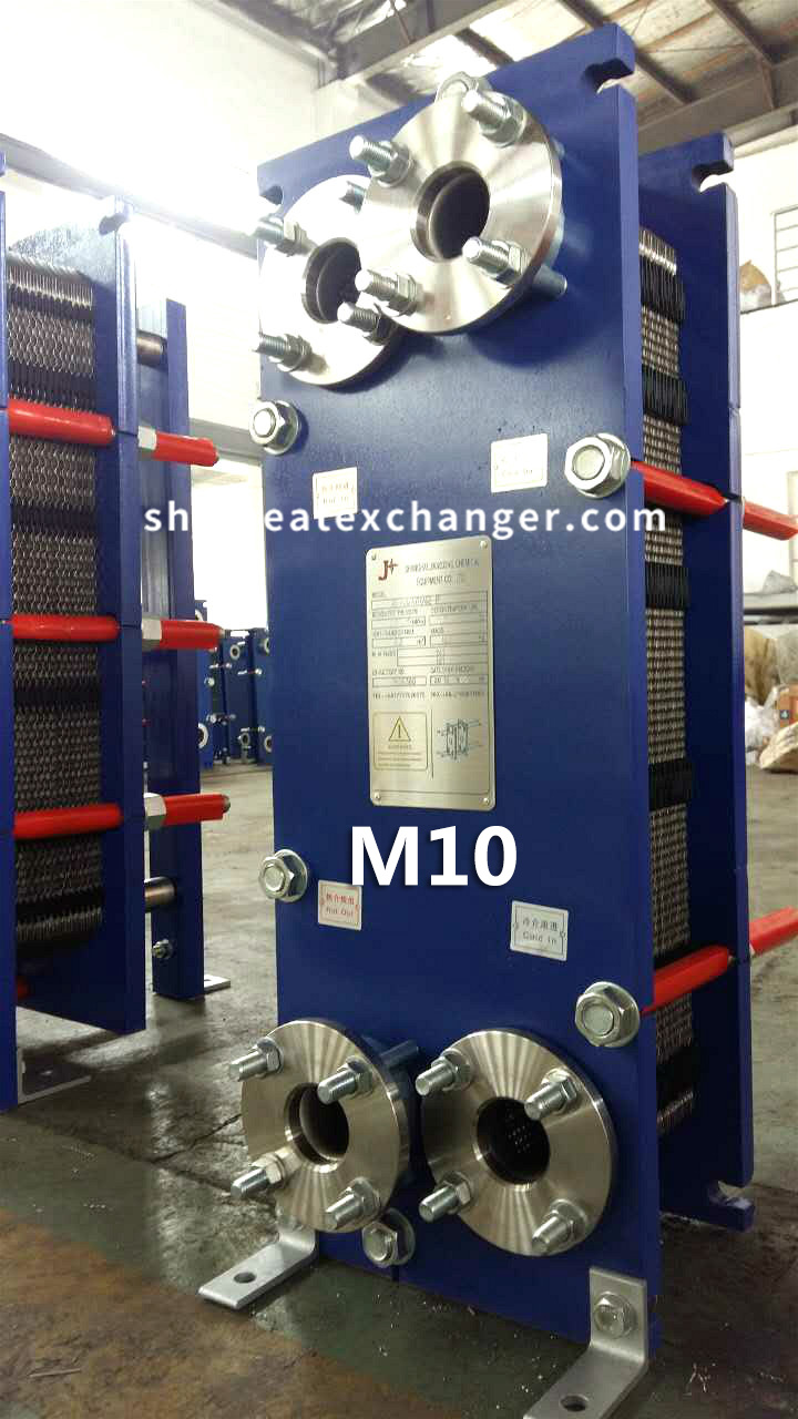 [Hot Item] Oil and Water Cooling M10 Plate Heat Exchanger Price