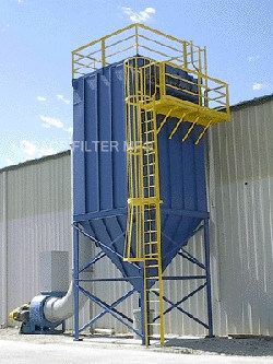 China Asphalt Plant Smoke Dust Collector Baghouse Filter