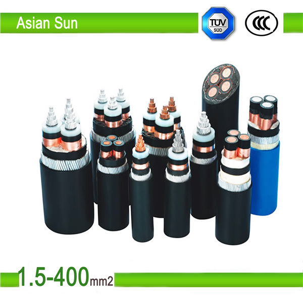 Aluminum XLPE Insulation PVC Sheathed Power Cable