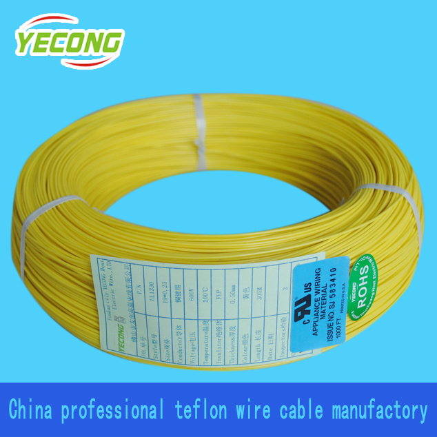 China 600V High Voltage FEP Insulated Heating Cable UL1330 - China ...