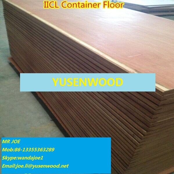 Keruing Container Flooring Plywood