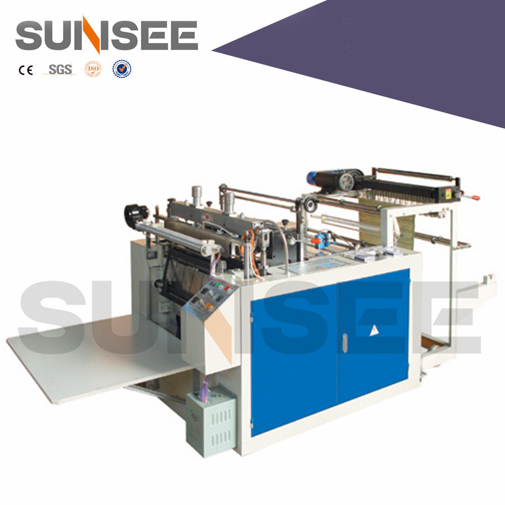Semi-Auto Computer Heat-Sealing & Heat-Cutting T-Shirt Bag Making Machine