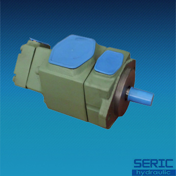 Double Hydraulic Oil Vane Pump PV2r12 Series