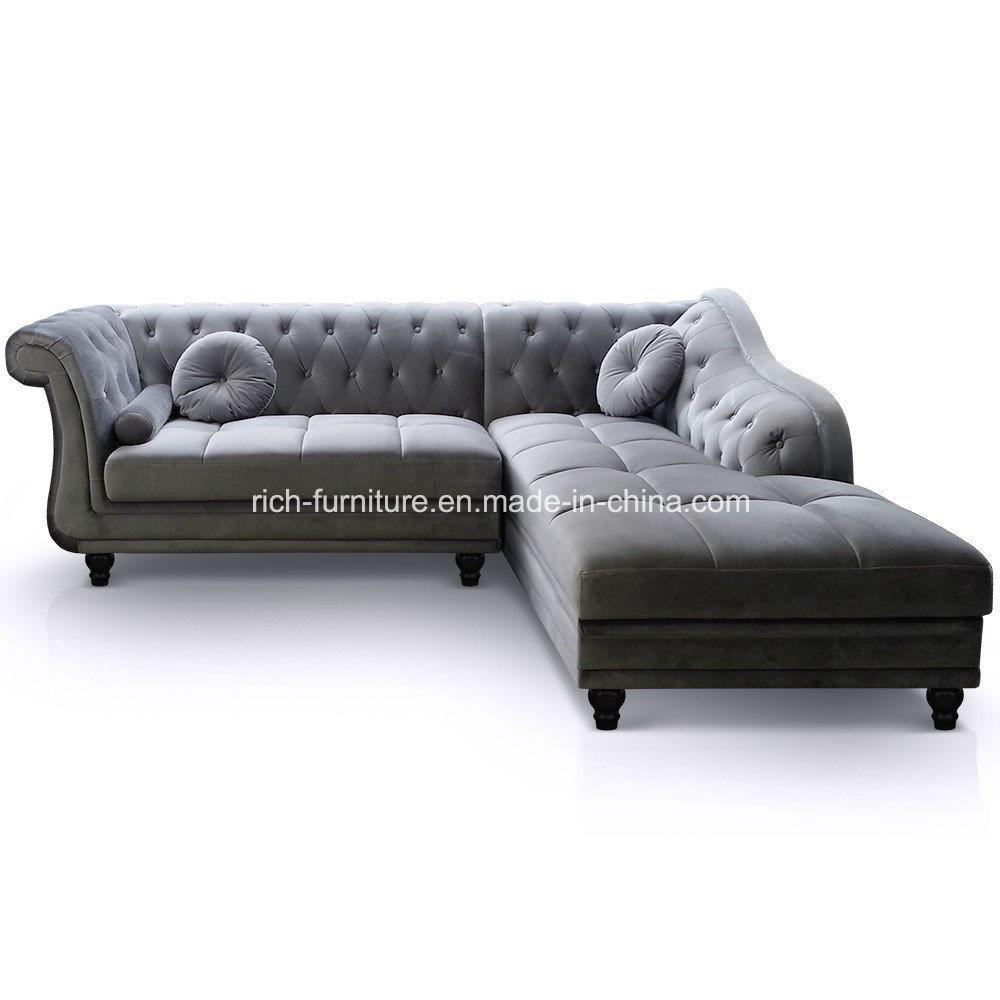 [Hot Item] Modern Classic Sectional Living Room Hotel Sofa