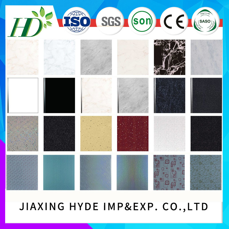 Hot-Stamping PVC Ceiling Panel Wall Panel PVC Panelling pictures & photos