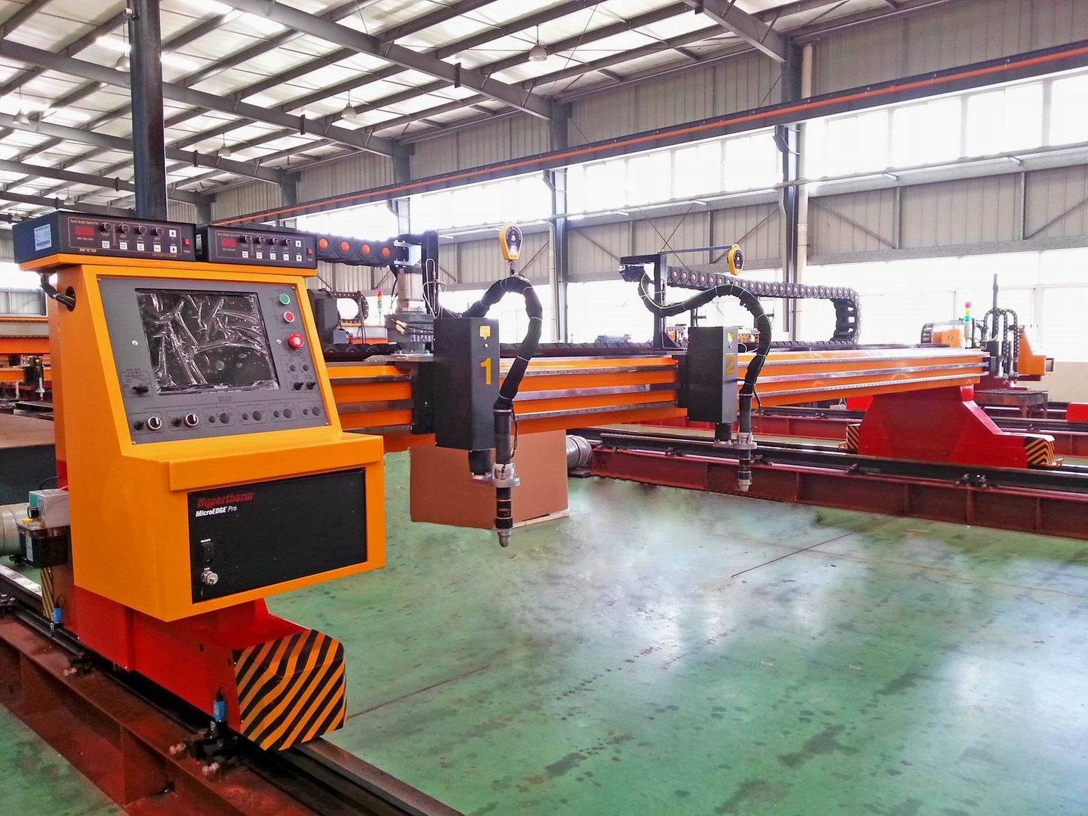 130A 260A High Definition CNC True Hole Plasma Cutting Machine pictures & photos
