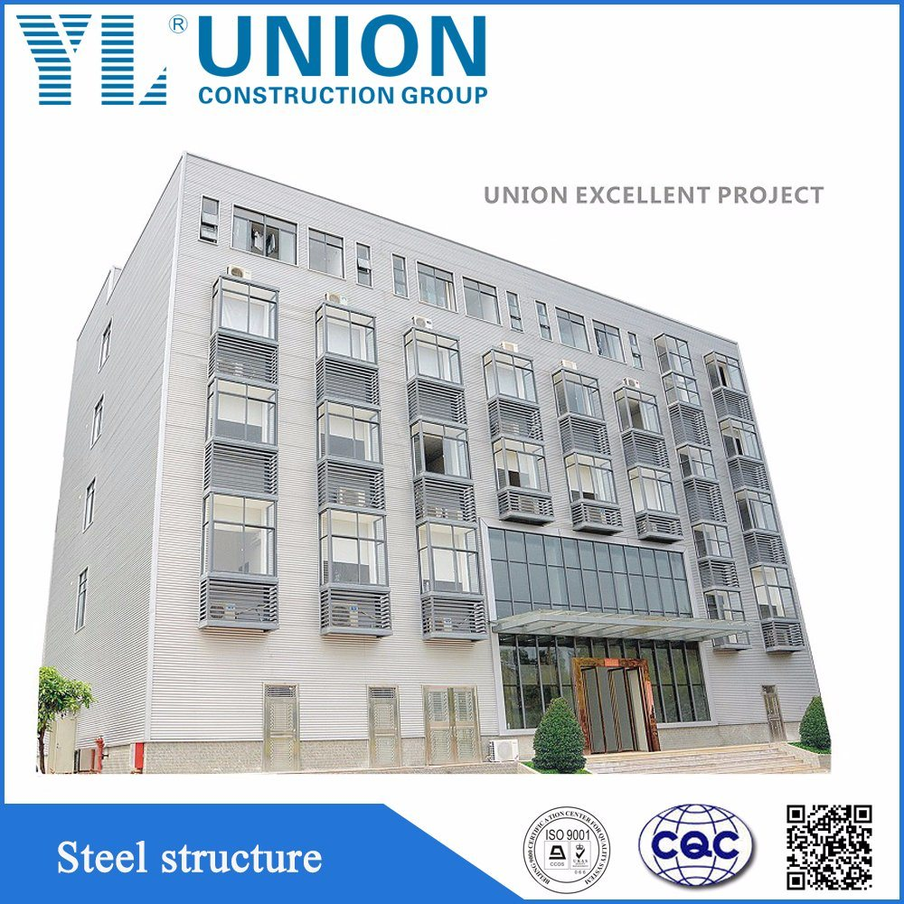 China Prefab Steel Structure Frame Buildings with Various Steel ...