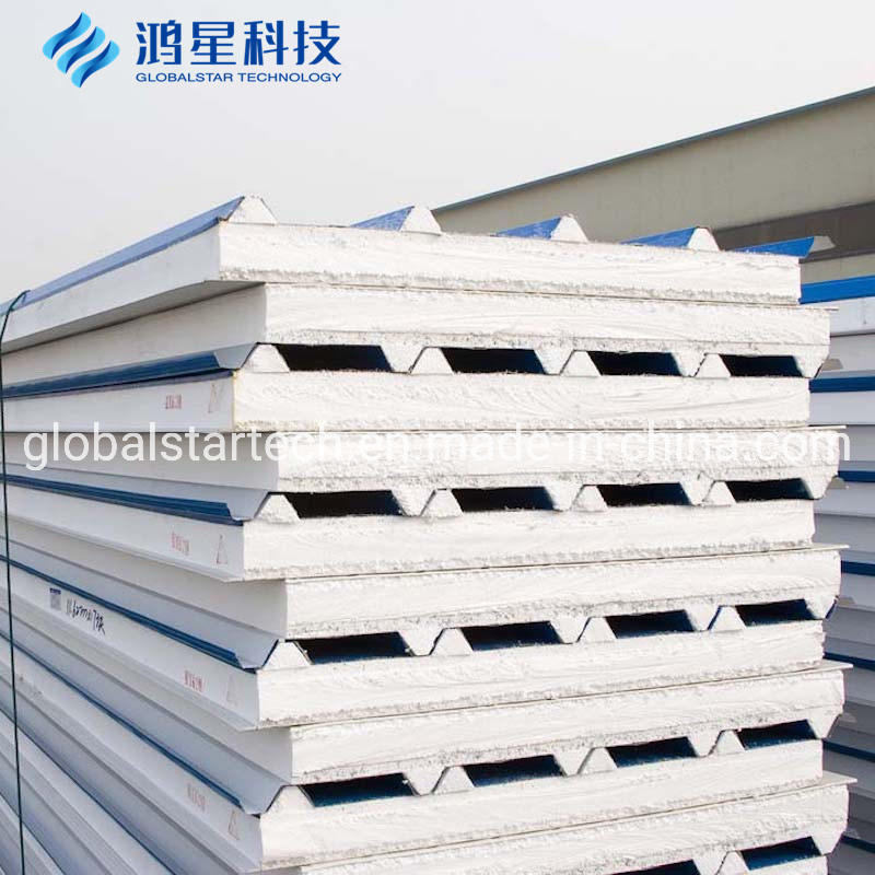 China Steel Building Material Colored Sheet Price Roof Tile Sandwich Panel China Eps Sandwich Panel Sandwich Panel Price