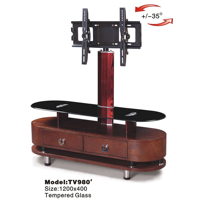 china wall mount tv stand cabinet glass tv table with bracket photos