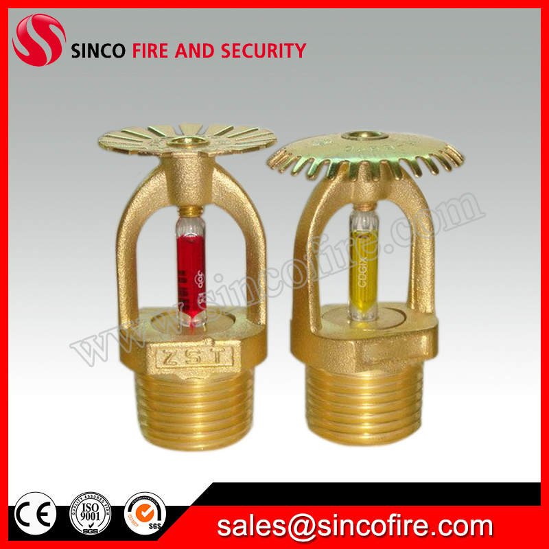 China Dn15 Pendent Fire Sprinkler Head with Escutcheon Plate