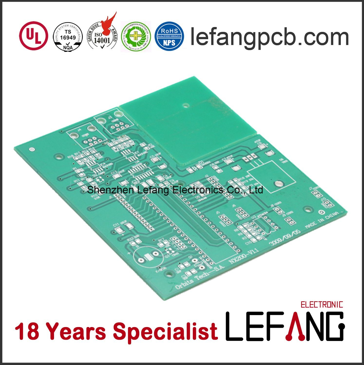 China Iso 9001 Certicifated Pcb Circuit Board Manufacturer For Manufacturing With Low Cost Security Pcba Power Supply