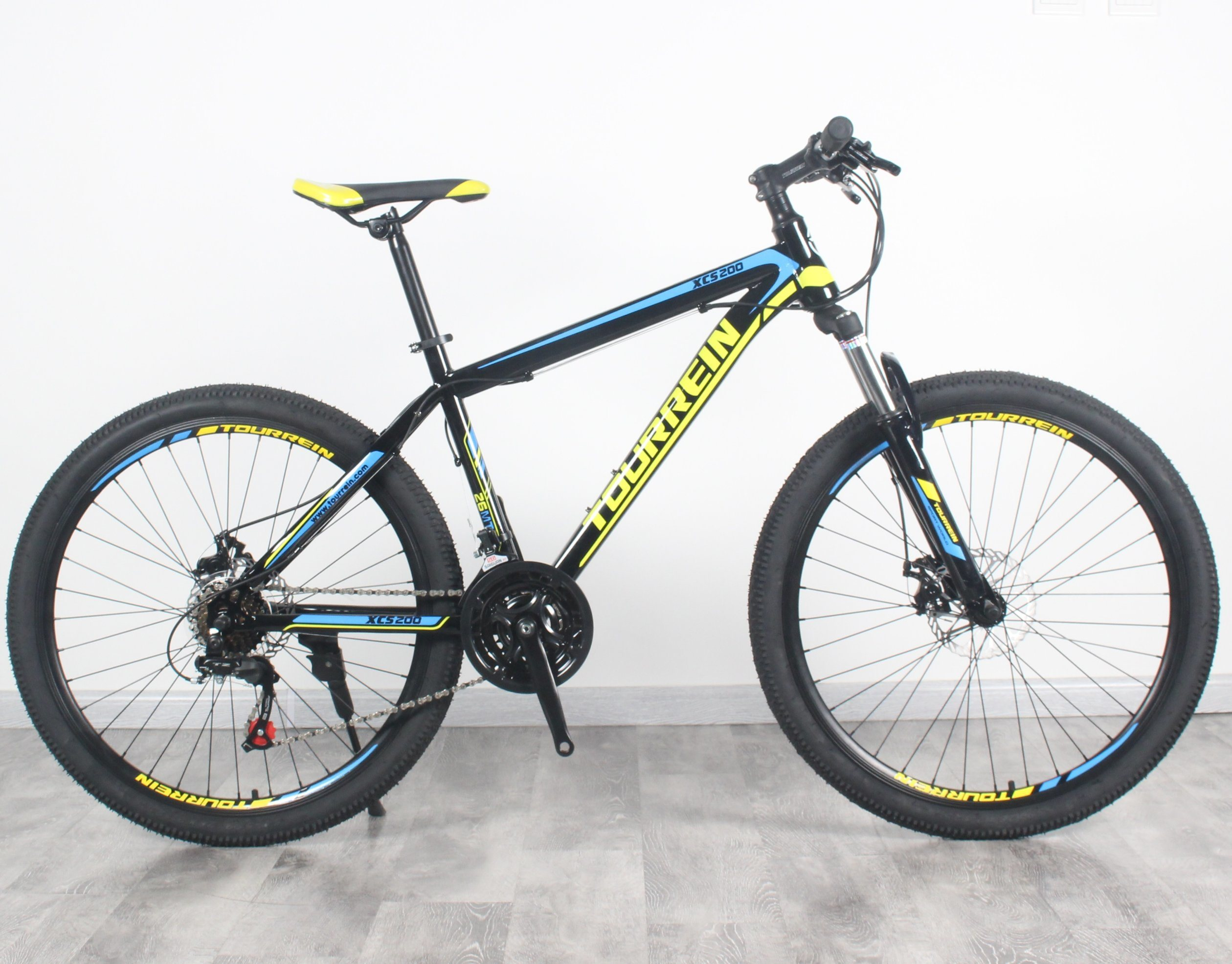 China 26 Inch Steel Frame Suspension Fork 21SPD Mountain Bike ...