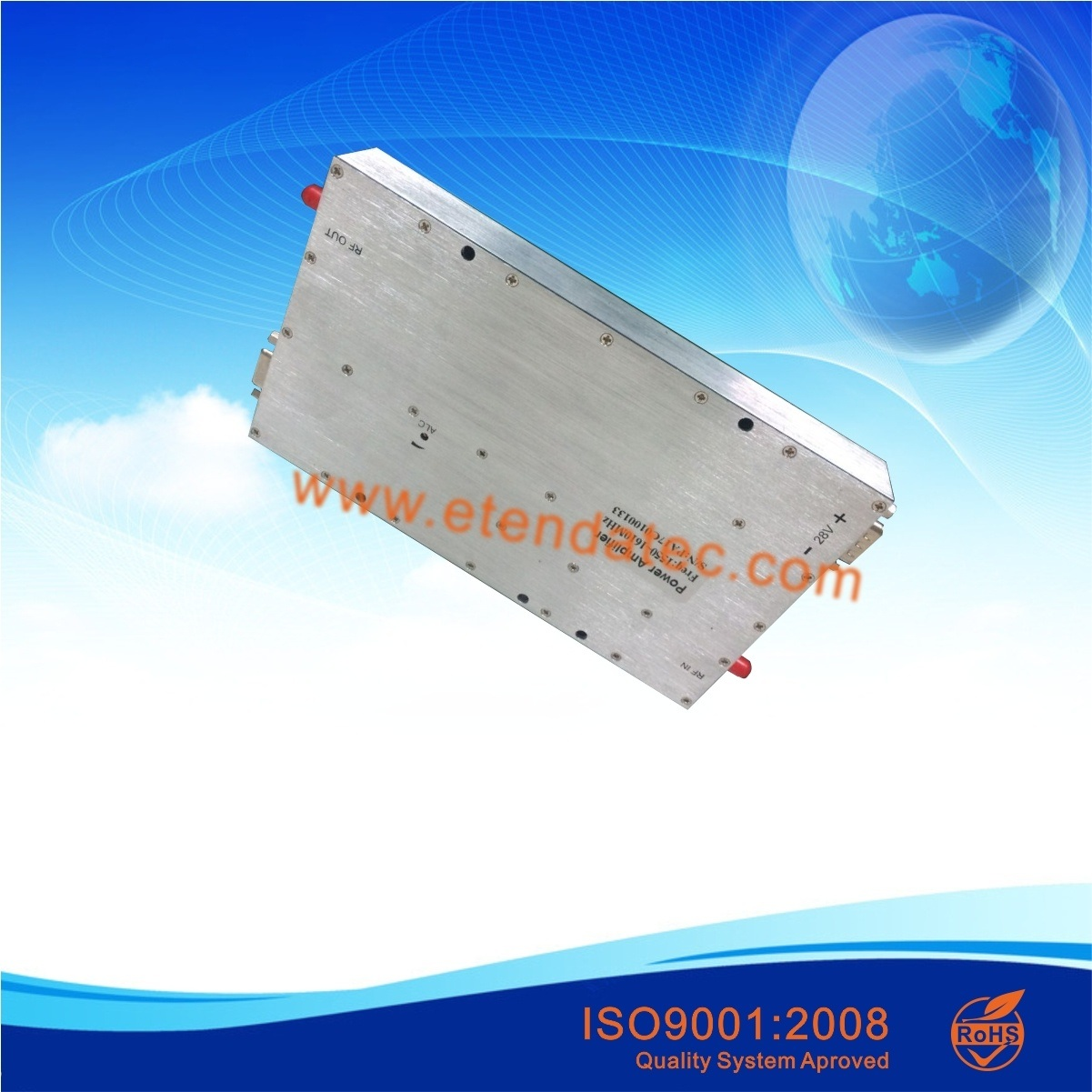 China 100 Watt Broadband Rf Power Amplifier Gan Sma High Quality Tetra