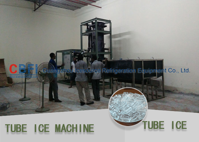 Easy to Install Tube Ice Machine for Africa 10000 Kg/Day pictures & photos