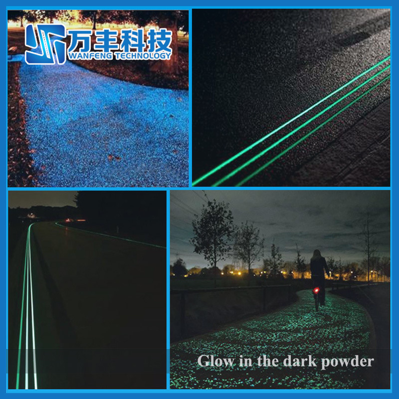 High Brightness Photoluminescent Pigment Glow in The Dark Powder pictures & photos