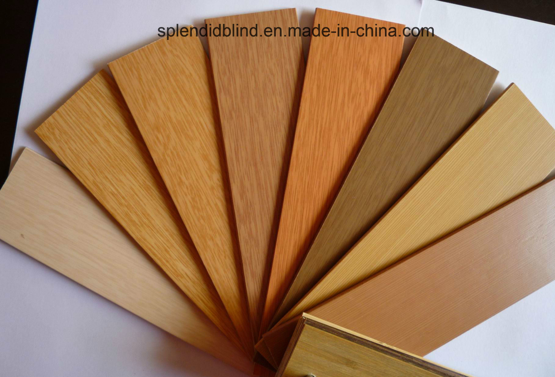 50mm High Profile Ladder Tape Wooden Blinds (SGD-W-7514)