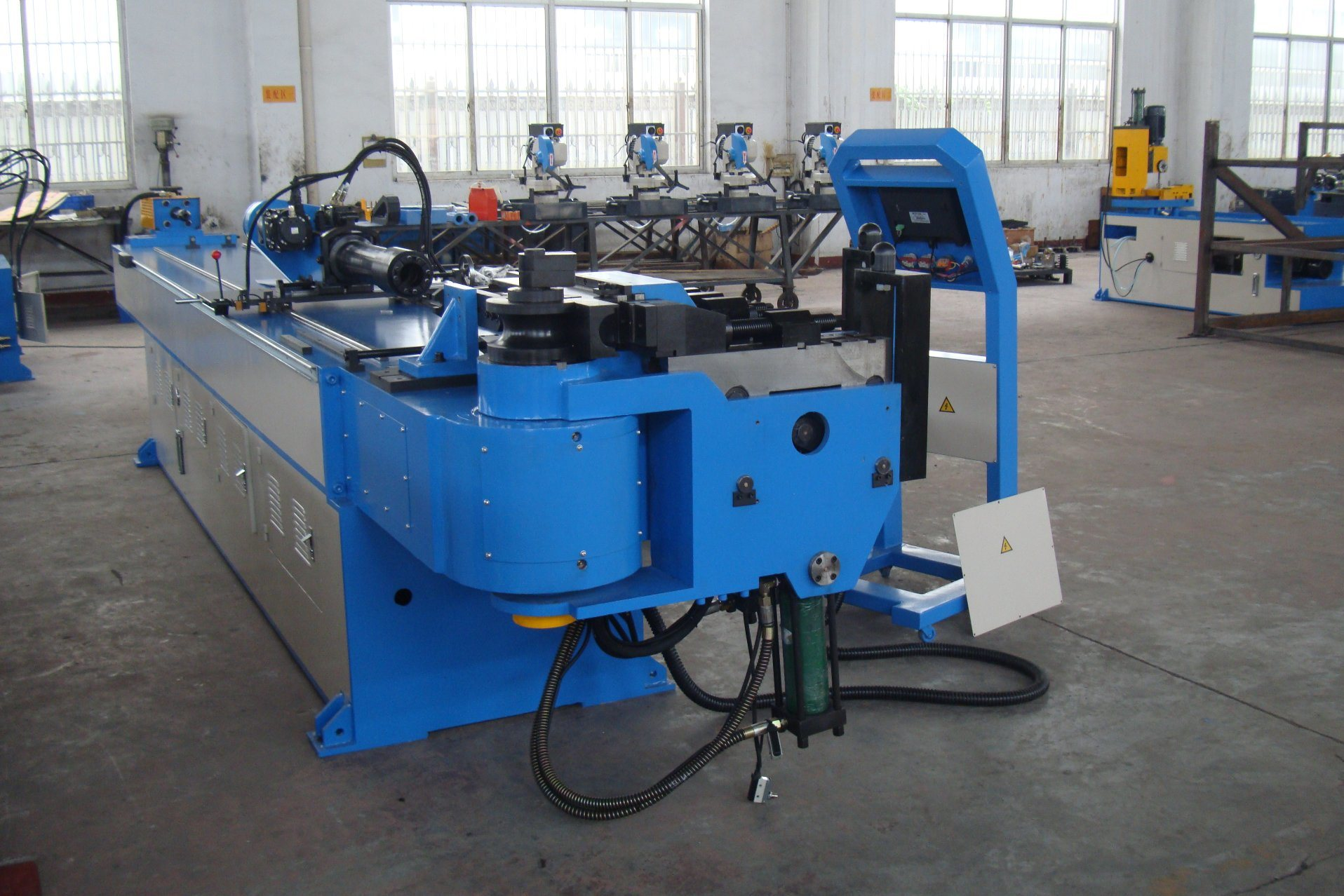 Full-Automatic Steel Bending Machine (GM-76CNC-2A-1S) pictures & photos