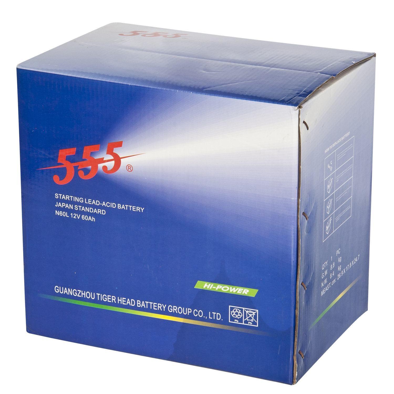 Longer Duration Automotive Battery Car N60l 12v60ah