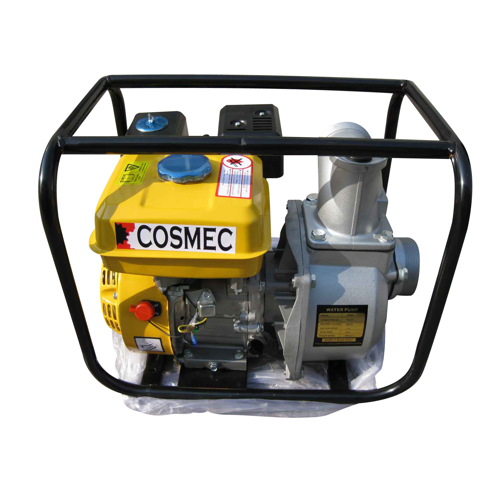 China High Quality Gasoline Water Pump (WP20) With 5.5HP