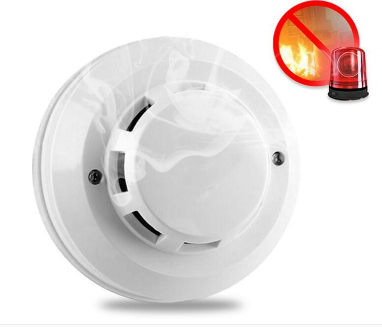 China Factory Price 4 Wire 12V Photoelectric Smoke Fire Detector for ...