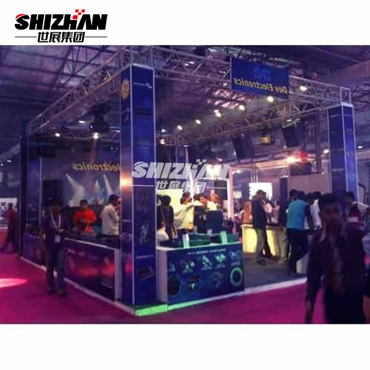 Display Truss Booth Lighting