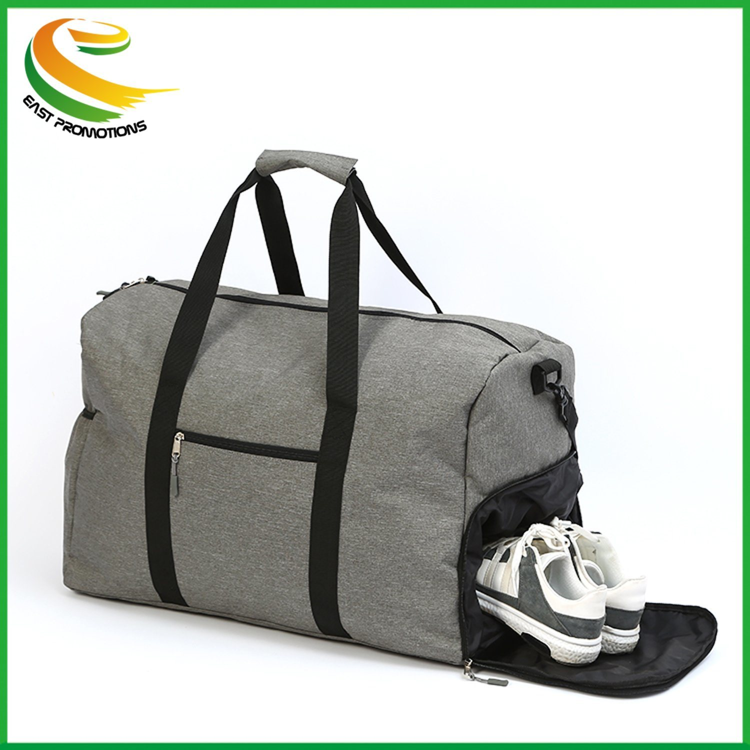 ae941293769 Outdoor Travel Large Size Carry-on Duffle Custom Gym Bag with Shoe  Compartment