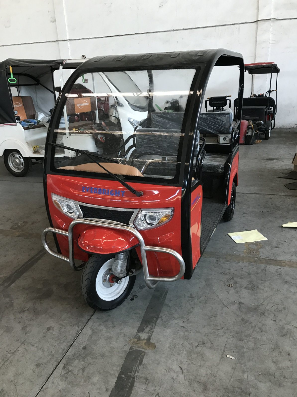 3 Wheel 48V800W Electric Mobility Scooter Trike, 45ah Electric Disabled Tricycle with Windshield pictures & photos