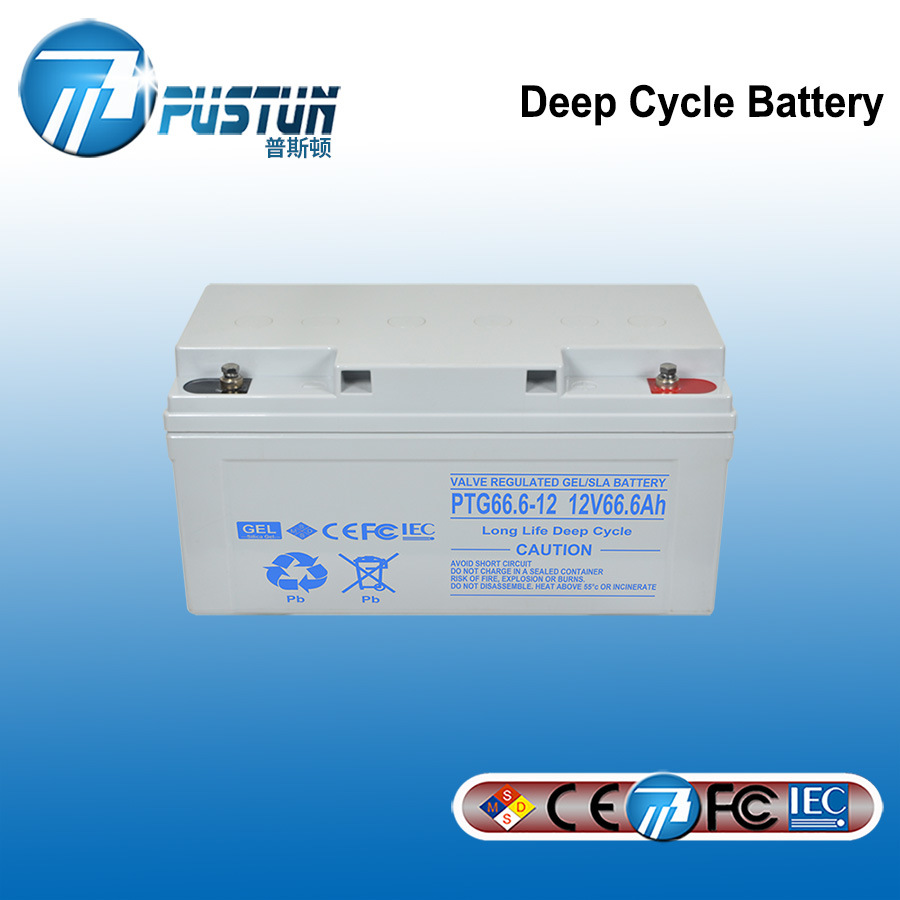 China 12v 66 6ah Sealed Solar Acid Battery For Emergency Light