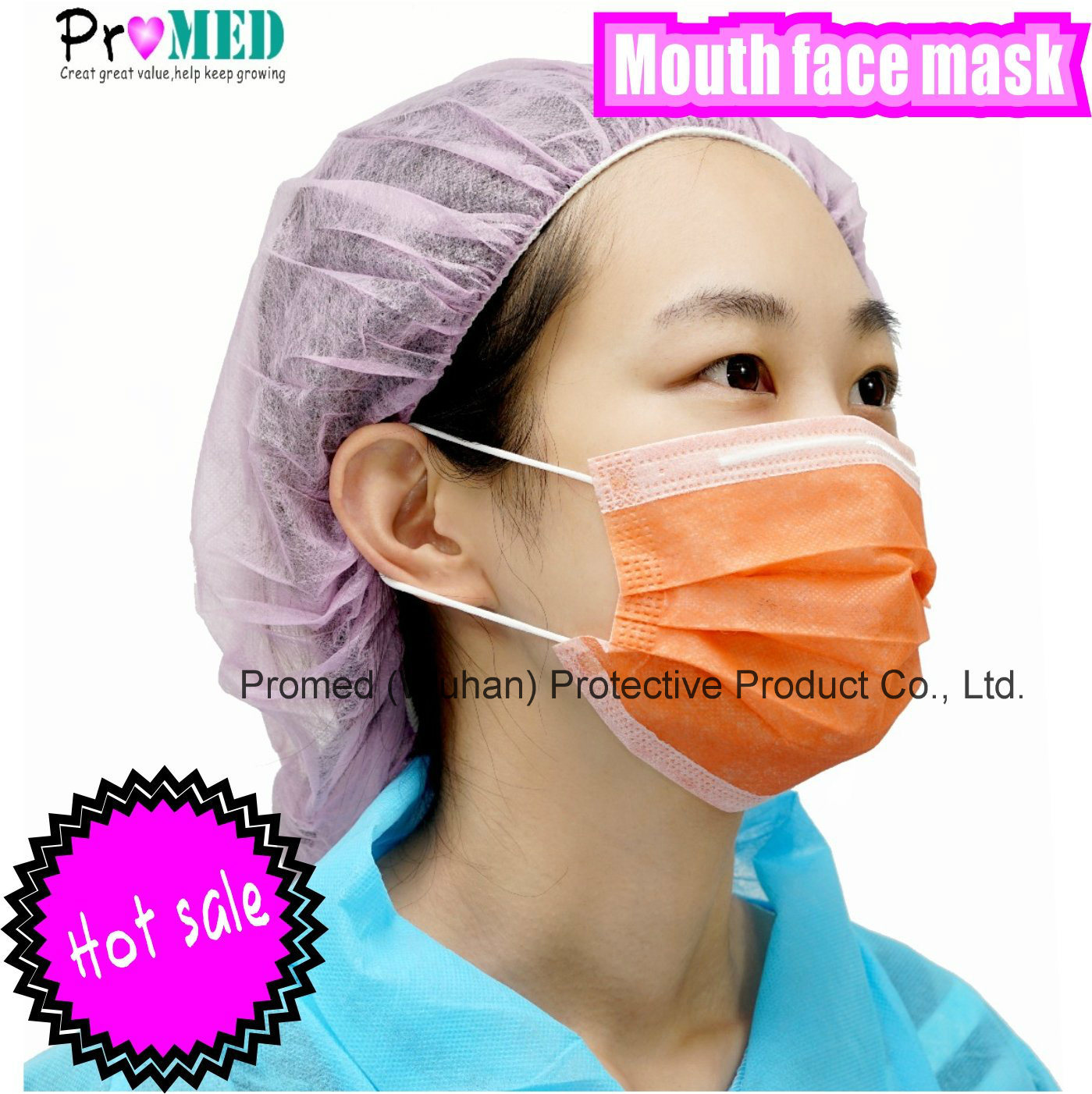 Protection hot Mask Face Disposable Item Nonwoven